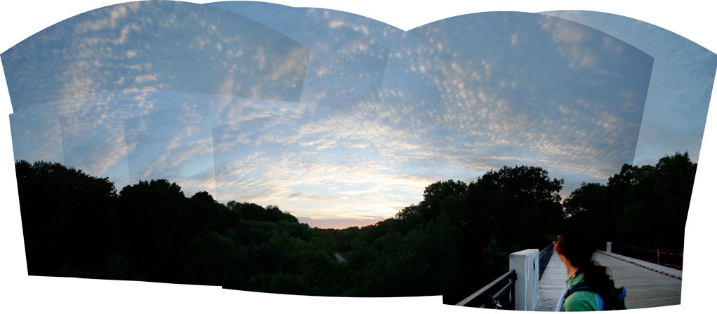 Jesse Panorama Sunset